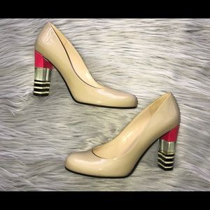 Kate Spade Leslie Patent Leather Heels Size 7